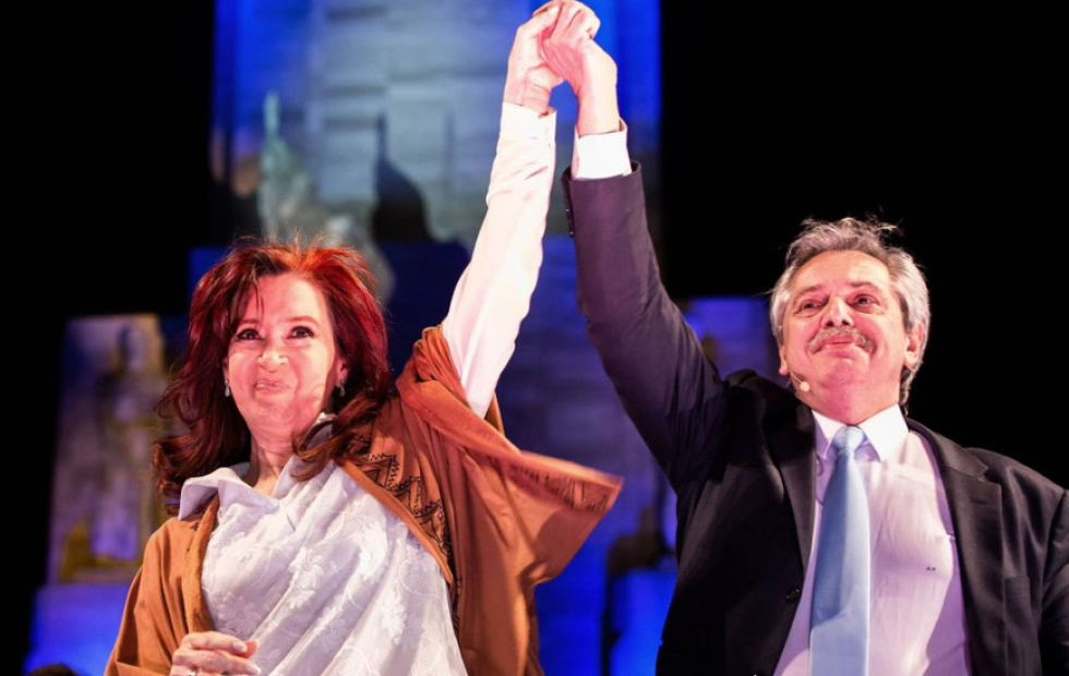 """Alberto Fernández tras reunirse con Cristina:  """"El Gabinete básicamente está definido"""""""