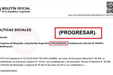 Decreto: Hasta cuándo se puede hacer los trámites para cobrar el plus de las becas Progresar