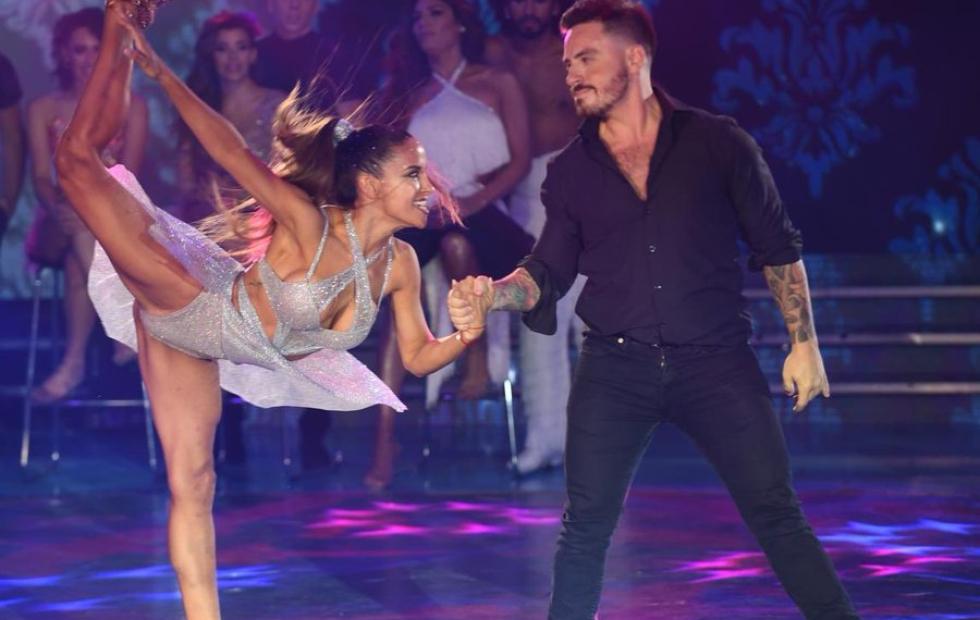 Emotiva noche: Lourdes Sánchez y Fede Bal están entre los siete finalistas del Bailando 2019