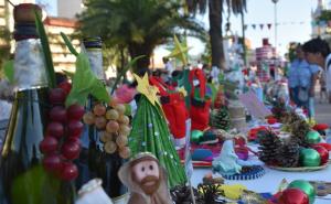 Navidad Pora paso por la Plaza Cabral con numerosas ofertas