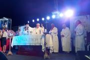 Santa Lucia: Destacan la masiva participación de feligreses en la fiesta patronal