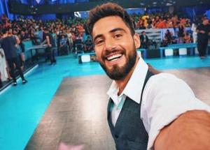 """""""Se fue feliz"""": El llanto de Nico Occhiato al recordar a su abuelo en el Bailando 2019"""