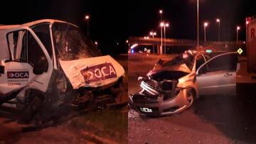Tres ciudadanos paraguayos muertos en trágico accidente en Ruta 14