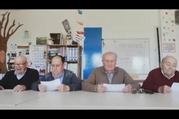 """""""Tele San Pedro"""", el informativo de los abuelos que se ríen del coronavirus"""