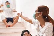 Ezequiel Garay finalizó el aislamiento por coronavirus y se reencontró con su pareja