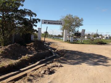 Obras de Cordon Cuneta finalizo el Municipio en 4 barrios de Goya- Vista de la obra en calle Chile, barrio Matadero-1.jpg