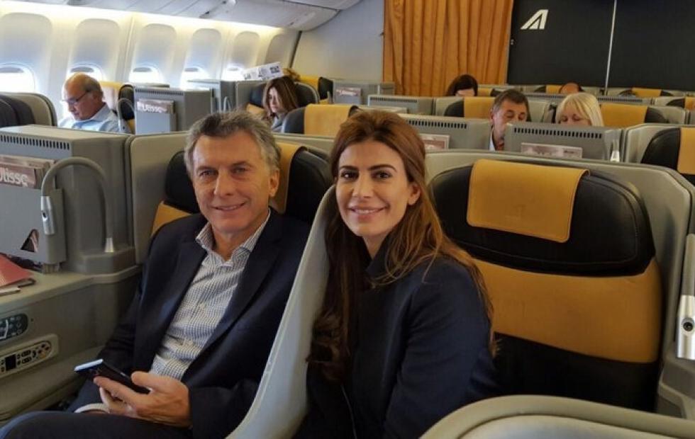 En plena cuarentena, Macri se fue a Europa en Familia — Otra vez