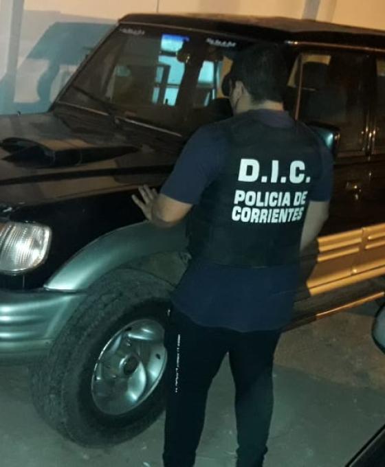 Secuestran en Itatí una  camioneta con documentación adulterada