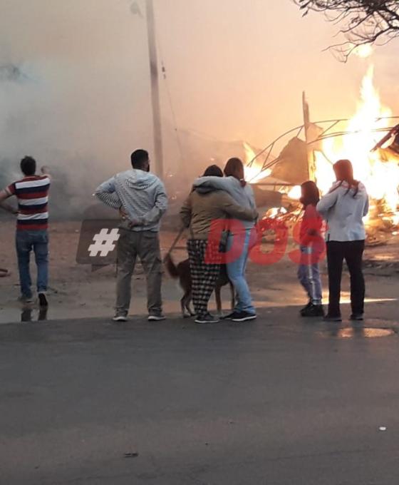 Vídeo: Un feroz incendio destruyó totalmente una maderera en Corrientes