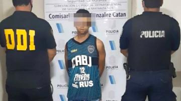 detenido bs as crimen policia correntino