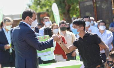 Corrientes: Gustavo Valdés anunció la construcción de 1600 viviendas en toda la provincia