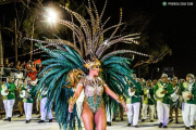Video: La comparsa libreña Zum Zum presentó samba enredo en lengua de señas