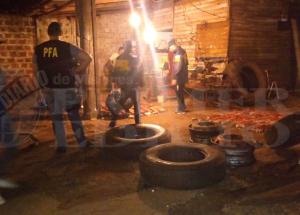 Detienen camión con unos cien kilos de marihuana que venia a Corrientes