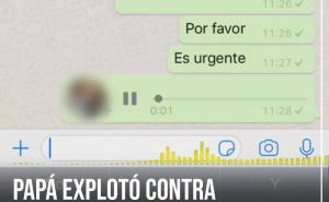 """Audio viral: el hombre que dejó el grupo de whatsapp de """"mamis y papis"""", pero antes dejó un mensaje bomba"""