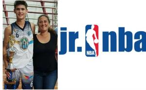 Bautista Alsina de Hércules fue convocado a participar del Campus Jr. de la NBA