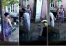 Desalmada mujer golpeó a su mamá de 80 años con un palo, y todo quedó en video