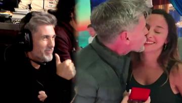 Chato Prada se comprometió con Lourdes Sánchez