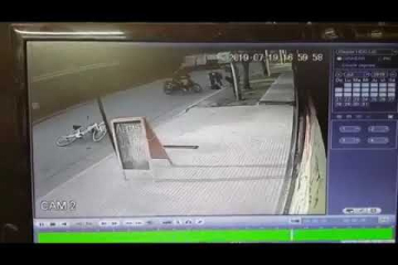 Violento ataque de un motochorro en Pergamino