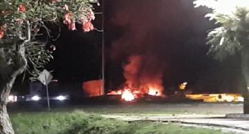 Incendio en una vivienda de Corrientes