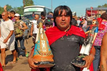 La fe no tiene limites en Corrientes. La Virgen y el Gauchito en el ranking de creencias más populares de Argentina.