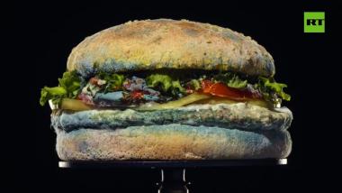 Burger King lanza un anuncio con una Whopper cubriéndose de moho