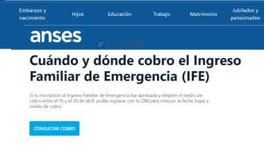 Anses Cuándo y dónde cobro el Ingreso Familiar de Emergencia IFE.png