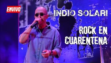ROCK EN CUARENTENA - Indio Solari y Los Fundamentalistas del Aire Acondicionado en vivo