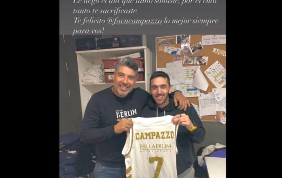 El mensaje de Lucas Victoriano a Facundo Campazzo tras el pase a la NBA