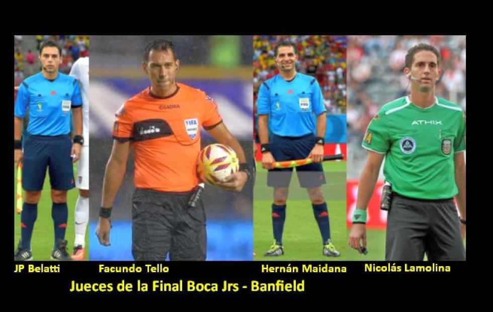 Copa Diego Maradona: Árbitros designados para las finales