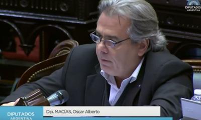 El ex diputado nacional por Corrientes, Oscar Macías dio positivo de Covid