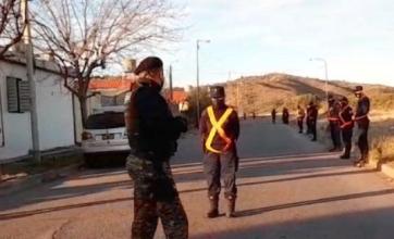 Buscan a Guadalupe Lucero: continúa el operativo cerrojo en el barrio