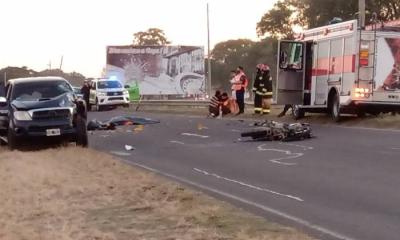 Murió un hombre tras ser atropellado por una camioneta