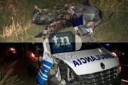 Goya: Ambulancia chocó a una madre que iba con su bebé en moto