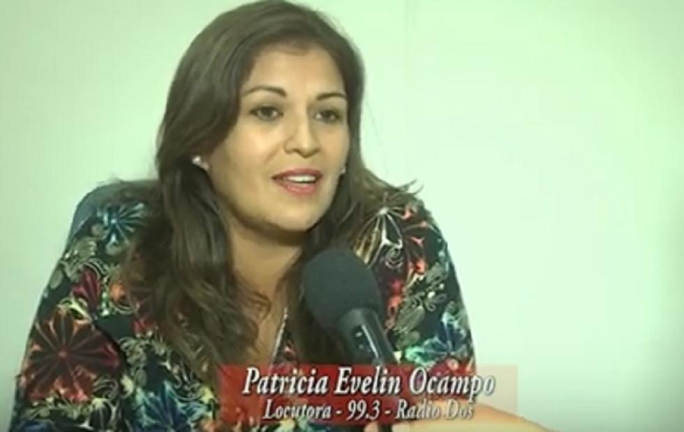 """Patricia Ocampo: """"Destaco siempre el contacto que tenemos con la gente"""""""