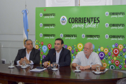 Valdés anuncio multimillonaria inversión en obras hídricas y asfalto para Goya