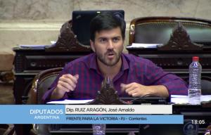 """Diputado Aragón: """"El 95% de peronismo correntino está con Cristina"""""""