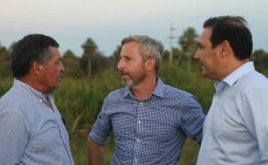 Llega hoy el ministro Rogelio Frigerio y recorrerá obras con el gobernador Valdés