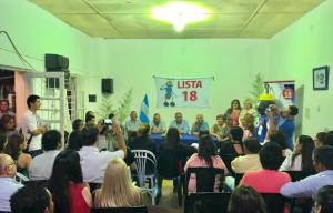 Cassani intensifica su actividad en todo Corrientes con vistas al primer turno electoral