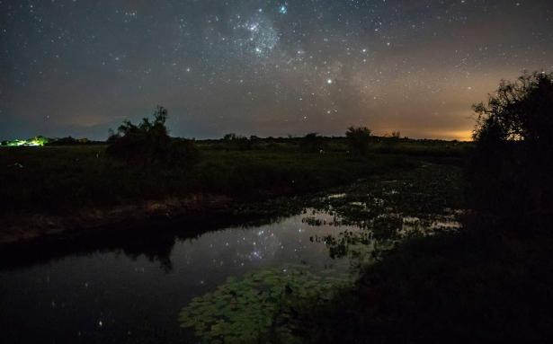 Una postal increible: El cielo estrellado en el Parque Nacional Mburucuyá