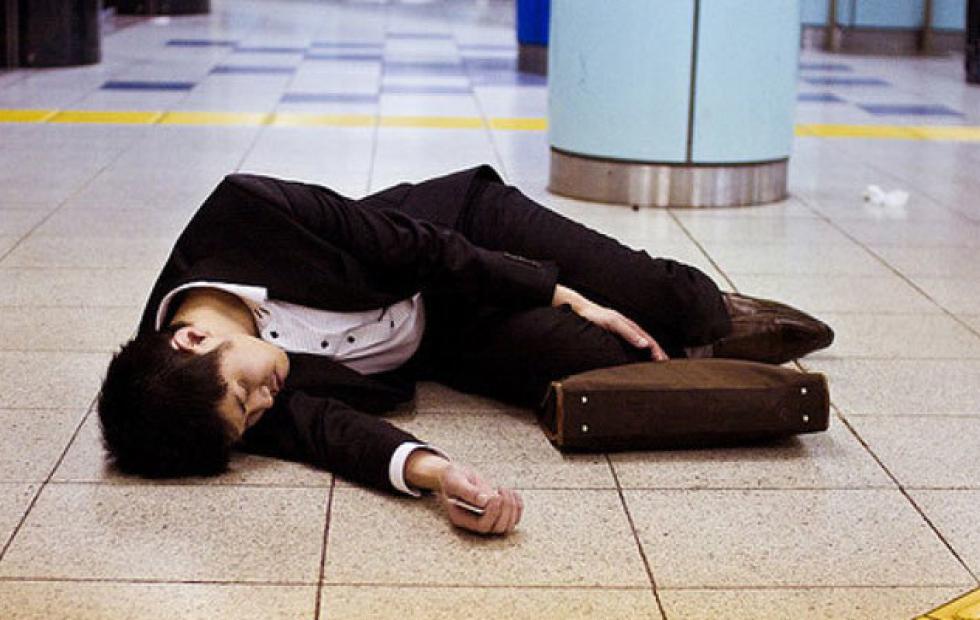"""""""Karoshi"""": La muerte por exceso de trabajo"""