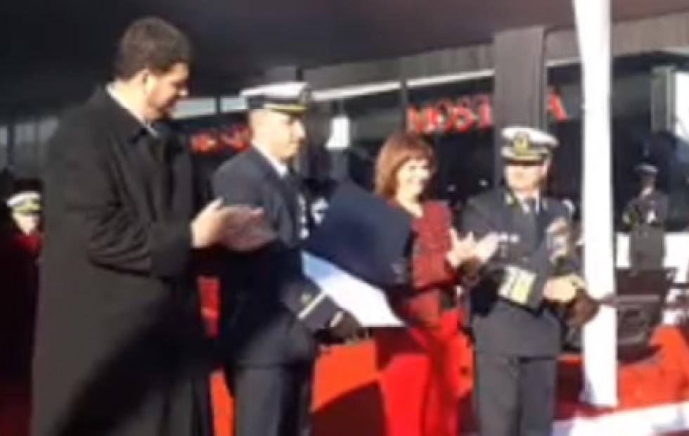 Orgullo: Prefecturiano correntino fue condecorado por rescatar dos pescadores