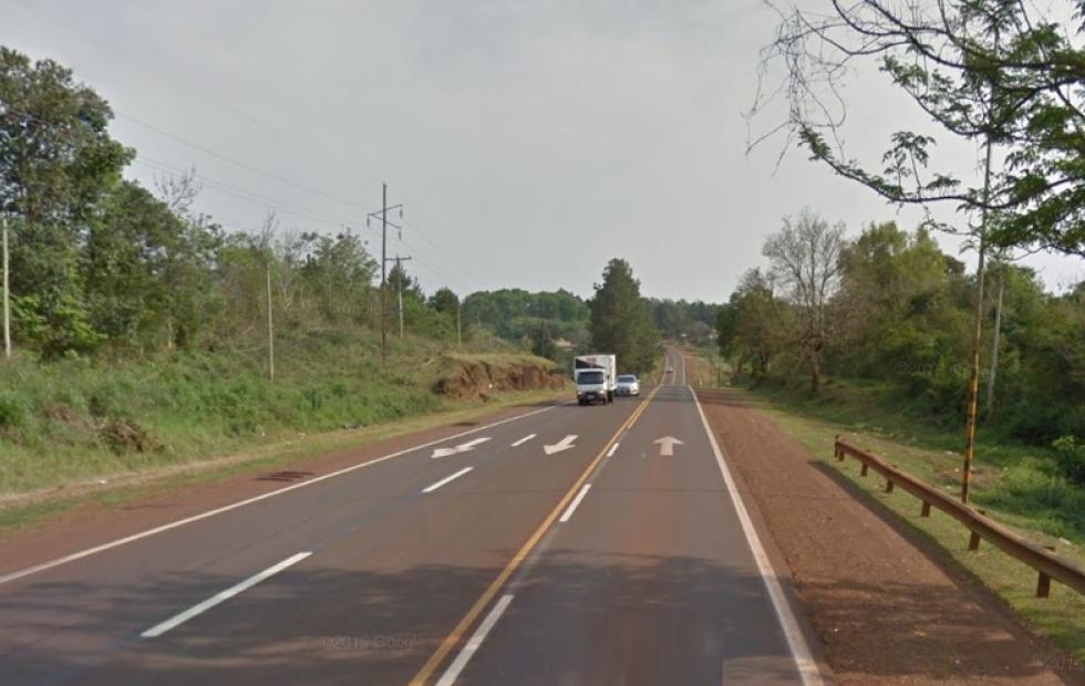 Joven conductor falleció tras despistar en Ruta 12