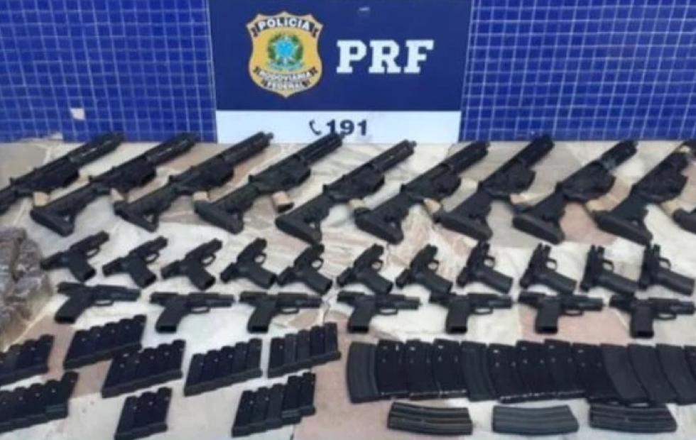 Video: Joven misionera detenida en Brasil con 3000 municiones de armas y fusiles
