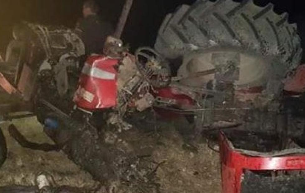 Chaco: Un muerto tras grave accidente entre un tractor y una camioneta