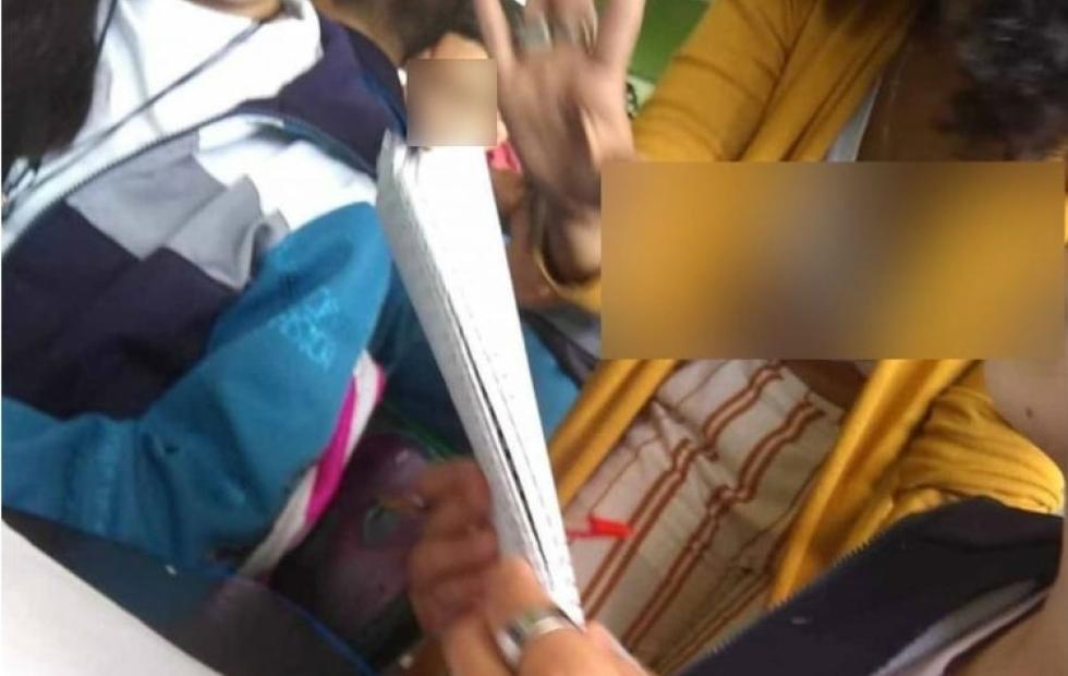 """""""Por bonita"""": La respuesta viral a la denuncia de una maestra que le fotografiaban su escote"""