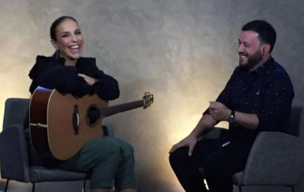 """Video: Lucas Sugo cantó junto a Ivete Sangalo previo """"al show más importante de su carrera"""""""