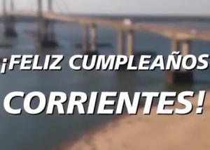 La ciudad de Corrientes celebra el 432º Aniversario de su fundación