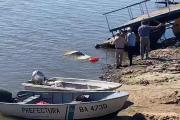 Esquina: Bajaba la lancha y terminó con el auto hundido en el Paraná
