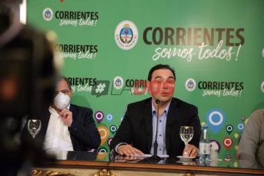Gustavo Valdes Coronavirus en Corrientes