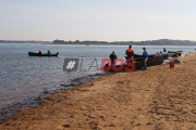 """Esposa de uno de los pescadores desaparecidos en el Paraná: """"Tenemos fe de que lo vamos a encontrar"""""""